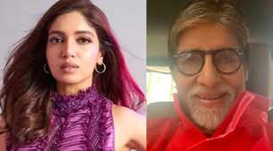 Bhumi Pednekar calls Big B 'Baller'; upset actor asks what it means