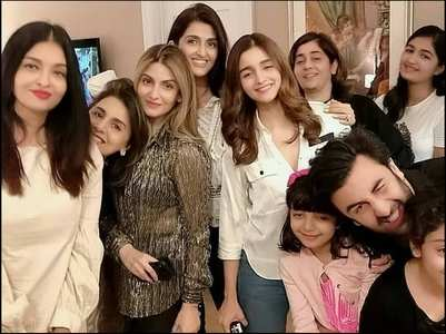When Ranbir-Alia-Ash came together for a pic