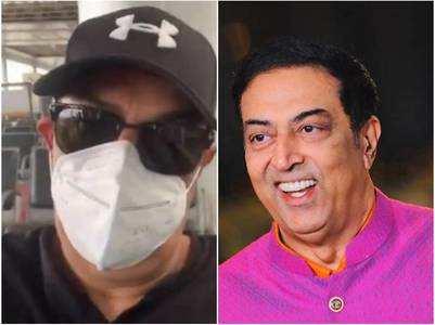 Vindu flies from Chandigarh to Mumbai