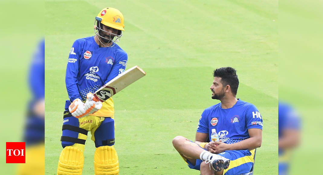Would choose Jadeja & Bravo as lockdown partners: Raina | Cricket News – Times of India
