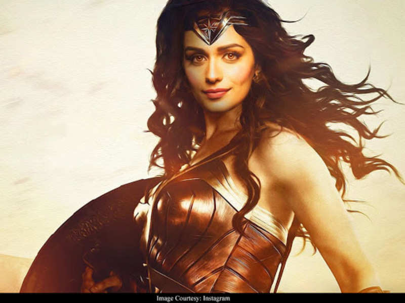 Manushi Chillar's picture as 'Wonder Woman' wins the internet
