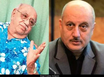 Anupam Kher remembers Bejan Daruwalla