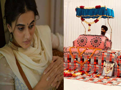 Taapsee bereaved after grandmother's demise