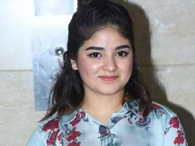 Zaira Wasim gets back on social media
