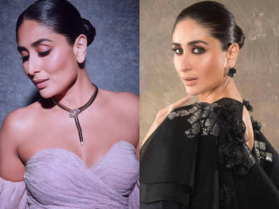 Kareena Kapoor's tight bun is the perfect hairdo for dirty oily hair!
