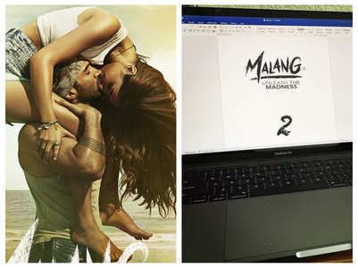 Mohit Suri shares first draft of 'Malang 2'