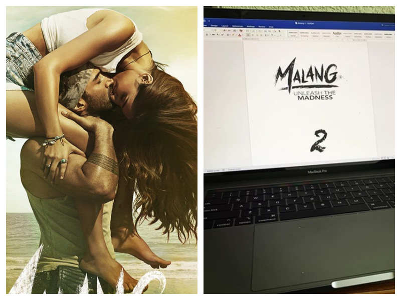 Mohit Suri shares a glimpse of the first draft of 'Malang 2' and fans just cannot keep calm!
