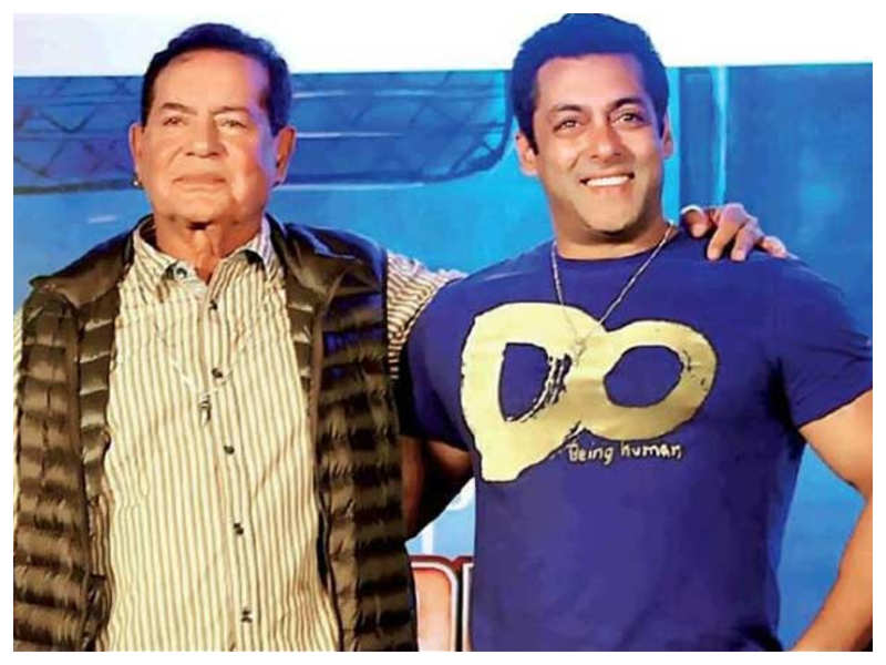 Did you know once Salim Khan took Salman Khan's punishment upon himself and stood outside his classroom?