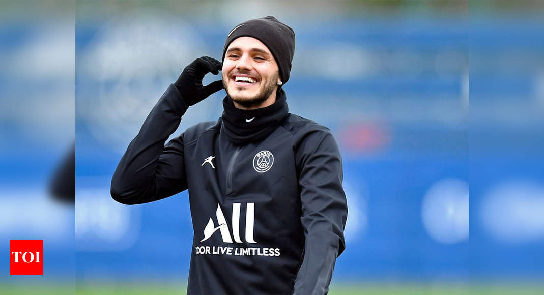 Psg Sign Mauro Icardi On Permanent Deal Inter Milan Football News Times Of India