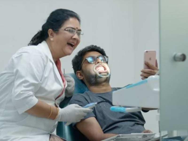 When Urvashi was asked to improvise a scene for Varane Avashyamund
