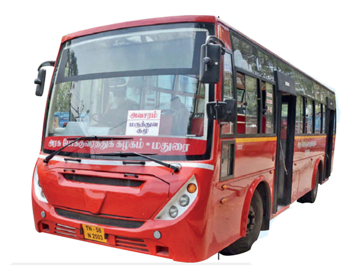 Tamil Nadu Lockdown News Buses Can Ply Firms To Work With 100 Strength Chennai News Times Of India