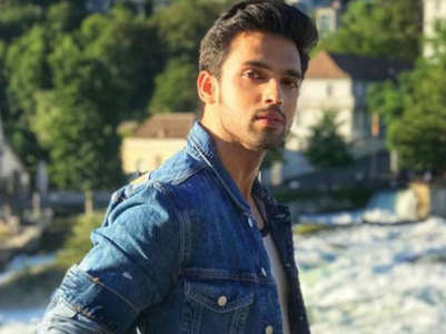 Parth Samthaan enjoys first spell of rains