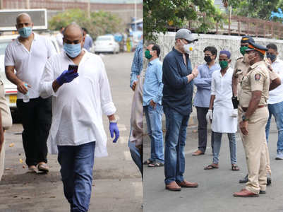 Celebs attend Wajid's last rites in Mumbai