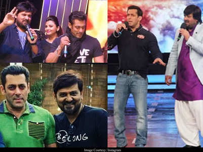 Wajid Khan's priceless moments with Salman