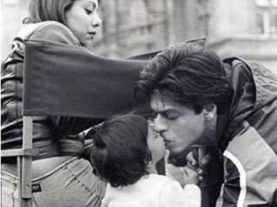 Suhana Khan's CUTE childhood pic with SRK