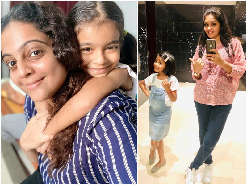 Gayathri Arun to Aswathy Sreekanth: Celeb moms are excited as their children step into a new academic year