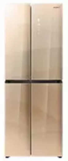 Whirlpool W Series 460 L Four Door Frost Free Refrigerator(6th Sense CloudFresh Technology, Crystal Gold, 10 Years Warranty )