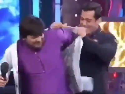 When Salman gave his blazer to Wajid Khan