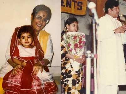 HBD, Sonakshi: Childhood pics of the actress