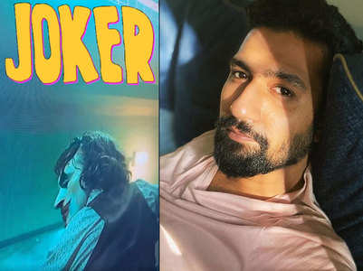 Is 'Joker' Vicky's current favourite film?