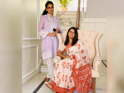 Kangana on designing her sister's house