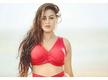 Yamini Singh looks drop-dead gorgeous in a red monokini
