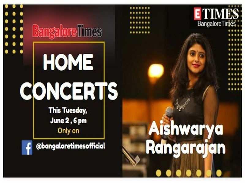 Aishwarya Rangarajan to perform live today