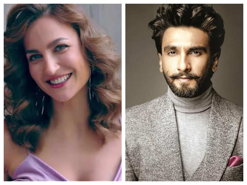 Elli AvrRam wants Ranveer Singh as her lockdown partner and the reason will amuse you!