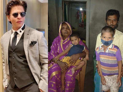 Fans hail SRK for helping orphaned boy