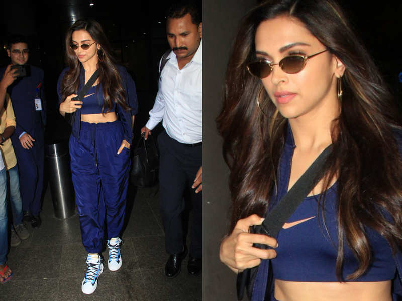 When airport looks were regular and Deepika Padukone wore Nike sneakers worth half a lakh