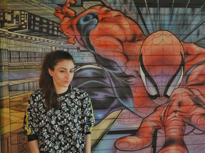 Soha gives a Spidey twist to awareness post