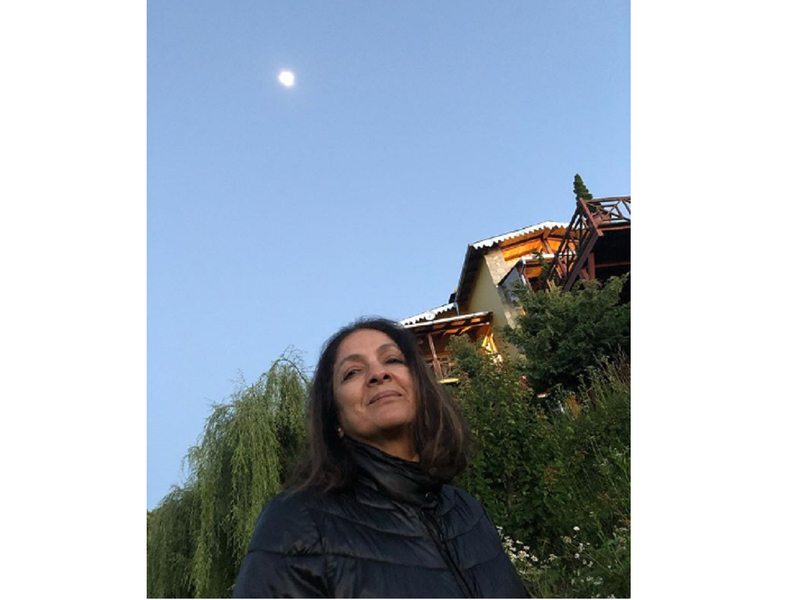 Neena Gupta's new selfie is all about home and the moon