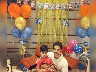 Tusshar shares a sweet post as Laksshya turns 4
