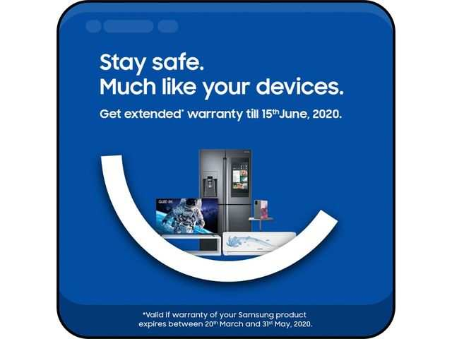 Samsung extends product warranty till June 15