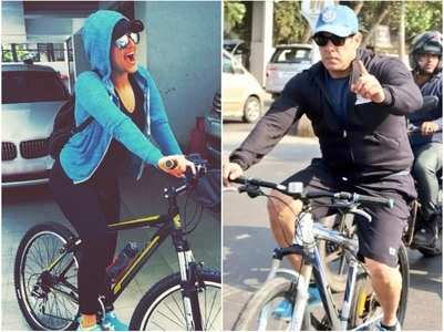 Bollywood celebs who love cycling