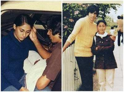 Rare photos of Amitabh and Jaya Bachchan