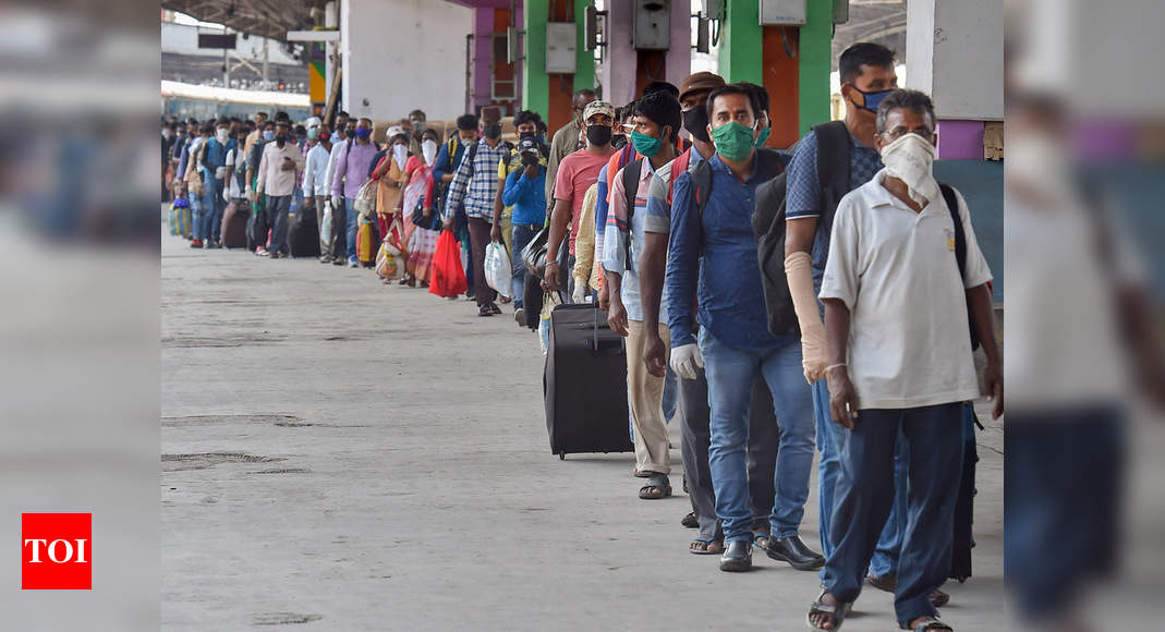Why is West Bengal govt not giving financial aid to migrants, asks BJP | India News – Times of India
