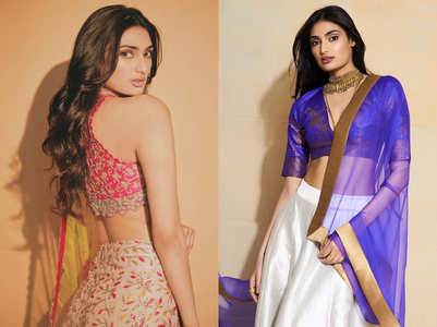 KL Rahul's rumoured girlfriend Athiya Shetty is the hottest lehenga girl of Bollywood