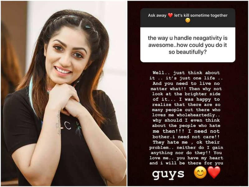 Here's how Bigg Boss fame Arya handles negativity; read post