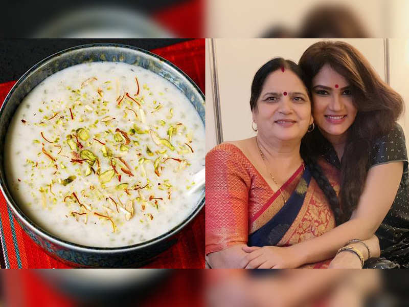 Telly actress Kamna Pathak celebrates her birthday with Kheer
