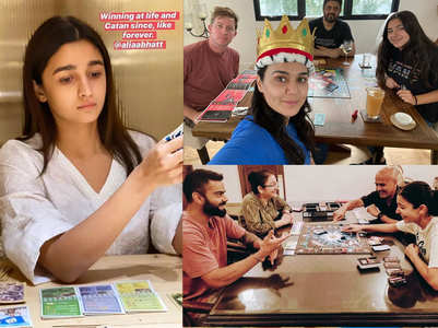 Board games celebs are playing in lockdown