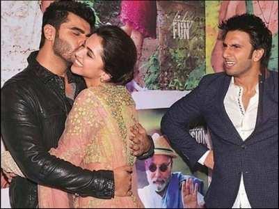 Arjun-Deepika-Ranveer's EPIC throwback pic