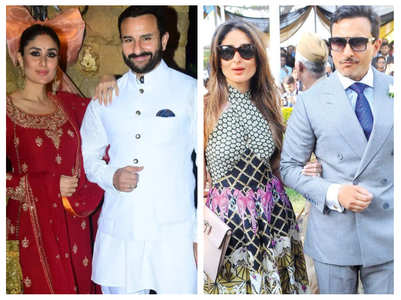 Pics of Kareena and Saif that define royalty