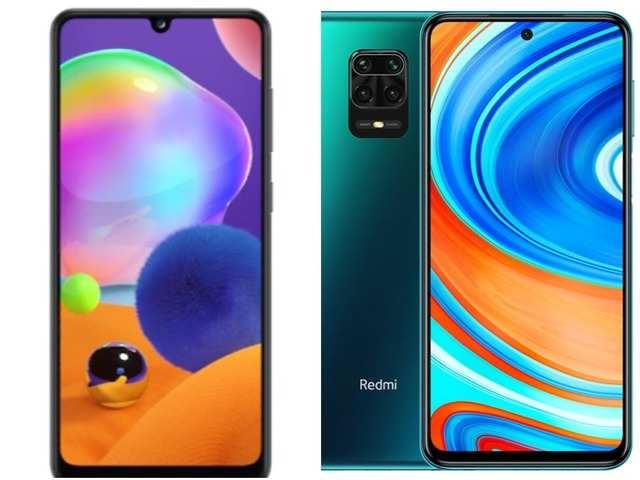 How Samsung's first MediaTek processor phone, Galaxy A31, compares with Xiaomi Redmi Note 9 Pro Max