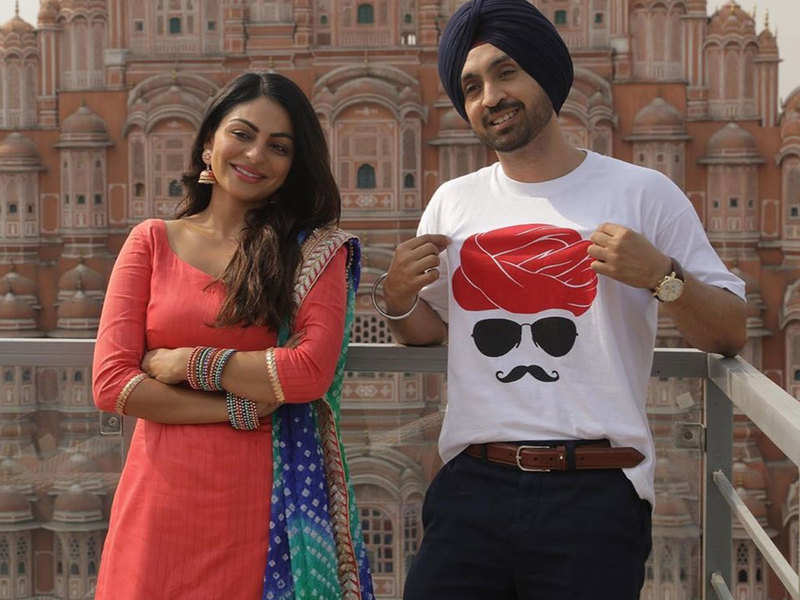 This Day That Year: Neeru Bajwa and Diljit Dosanjh won hearts with THIS bts picture from 'Shadaa'