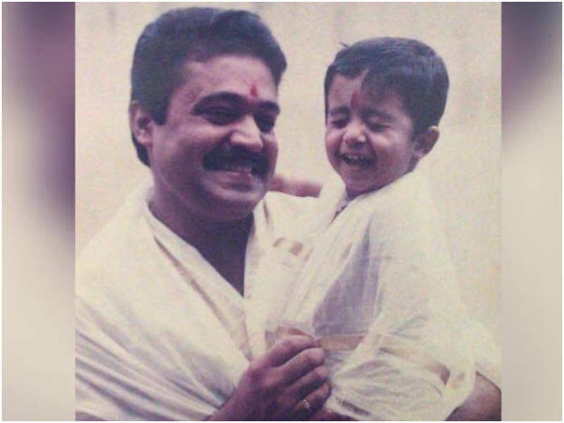 Throwback Thursday: THIS picture of Suresh Gopi and his son Gokul is unmissable