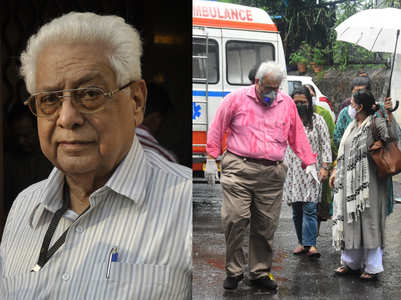 Celebs at last rites of Basu Chatterjee