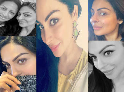 Check out Neeru Bajwa's stunning selfies