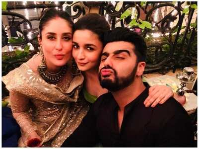 This pic of Bebo, Alia & Arjun is unmissable