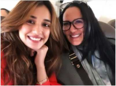Disha wishes Tiger's mom on her b'day